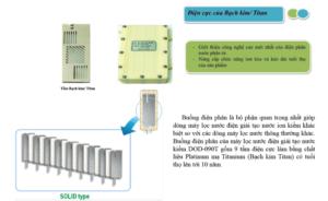 Buồng điện phân máy lọc nước ion kiềm