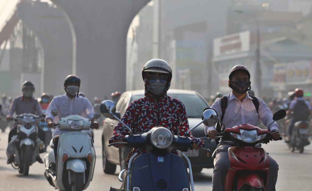 Ô nhiễm không khí tại các thành phố lớn